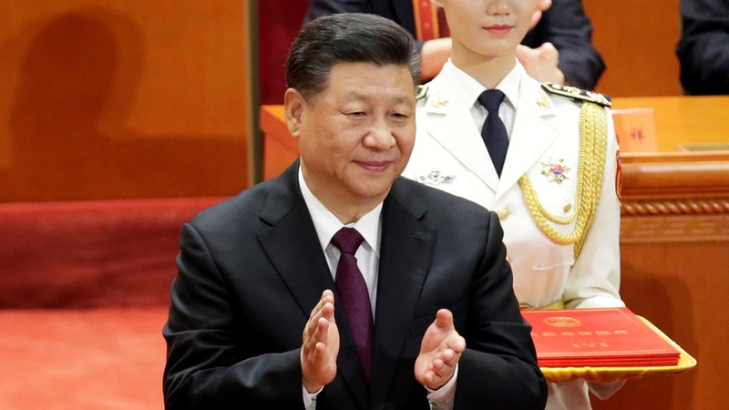 Xi says China won't be dictated to by an outsider