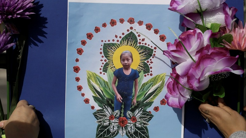 Border agents won't speak about migrant girl's death