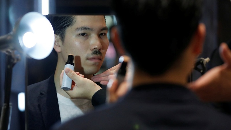 Beauty brands take a gamble on manly make-up