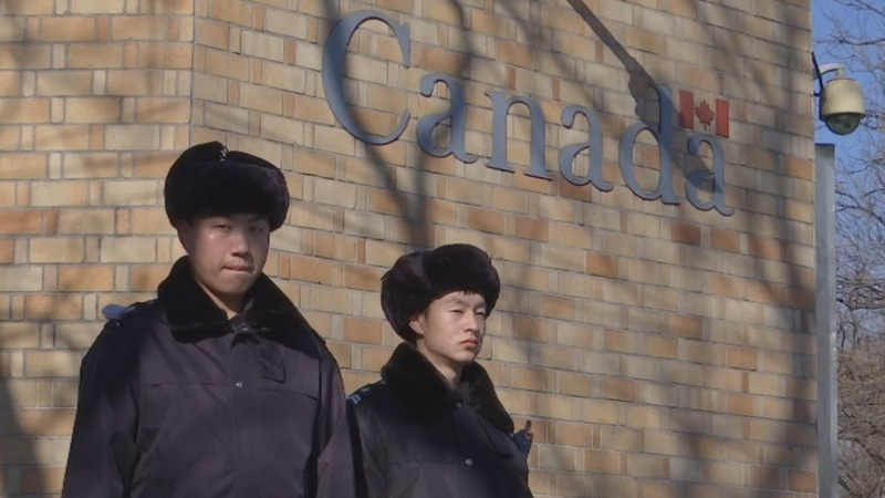 Third citizen held in China, Canadian media says