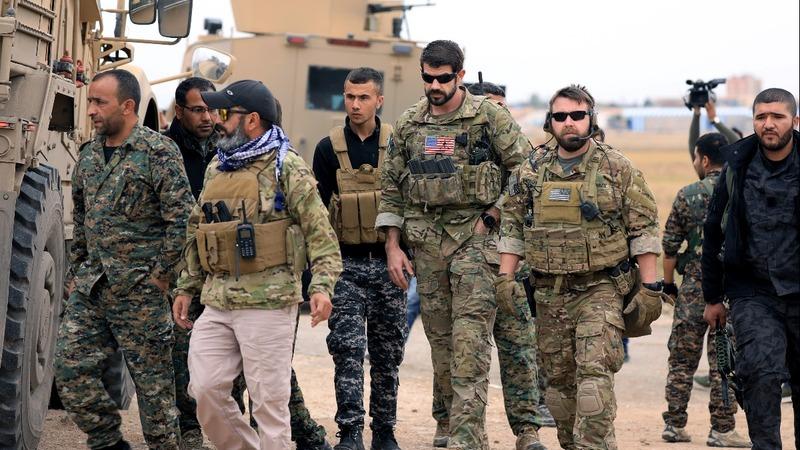 U.S. weighs complete withdrawal of troops in Syria