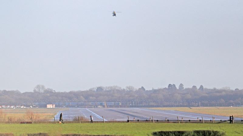 'Deliberate' drone flights cripple London airport