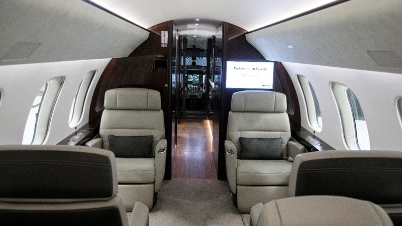 Bombardier delivers new, luxury jet for corporate travel