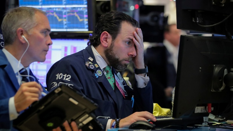 Nasdaq teeters on brink of bear market