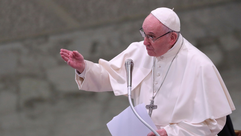 Pope tells predator priests to turn themselves in