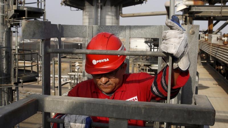 Oil output plummets as general runs Venezuela's PDVSA