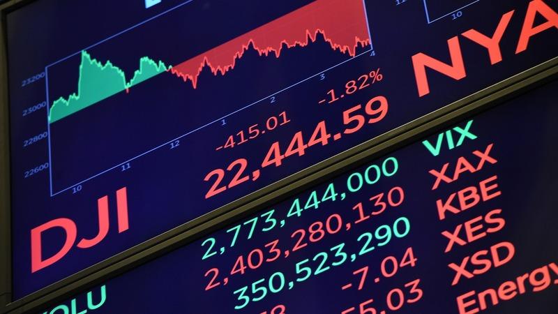 Economic fears cause a slide in U.S. stocks