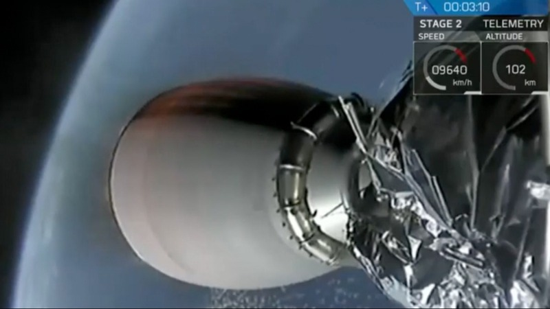 SpaceX launches first national security mission