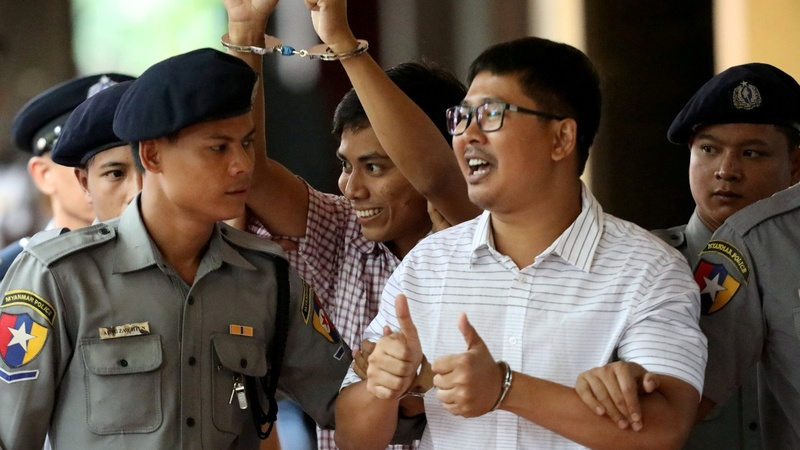 Myanmar court hears appeal of Reuters reporters
