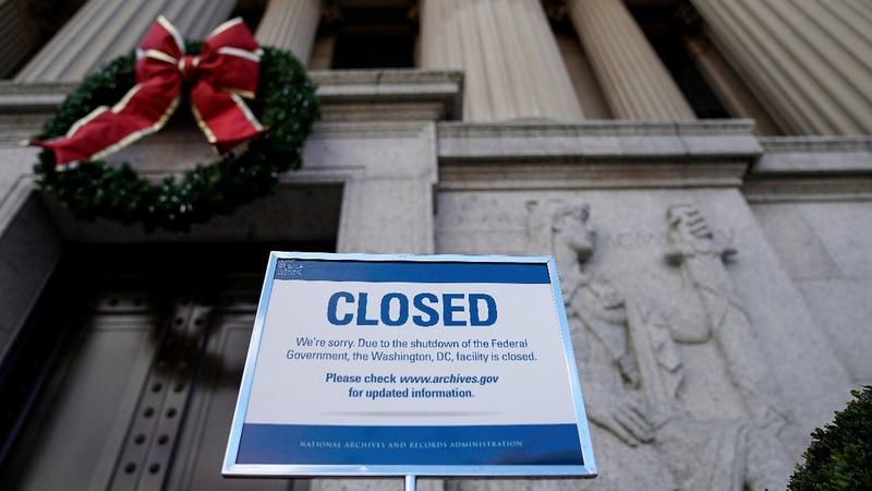 Senate adjourns for Christmas on shutdown day 3