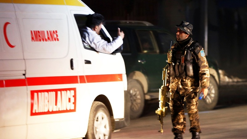 Massive attack at Afghan disabilities ministry