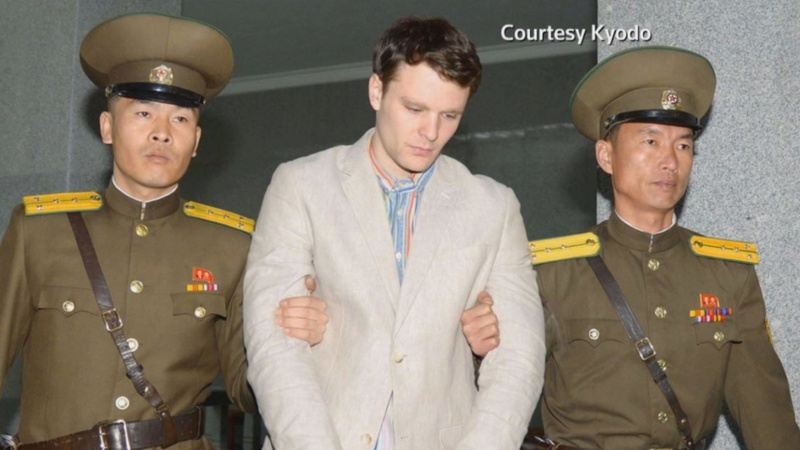 U.S. court fines N. Korea over student's death