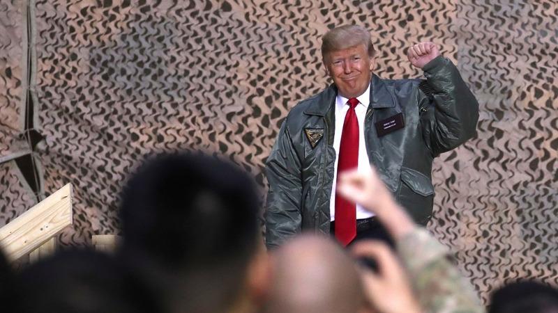 Trump falsely says he got U.S. troops 'biggest' pay raise