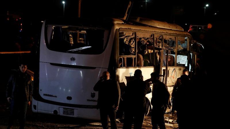 Egypt kills suspected militants after bus bomb