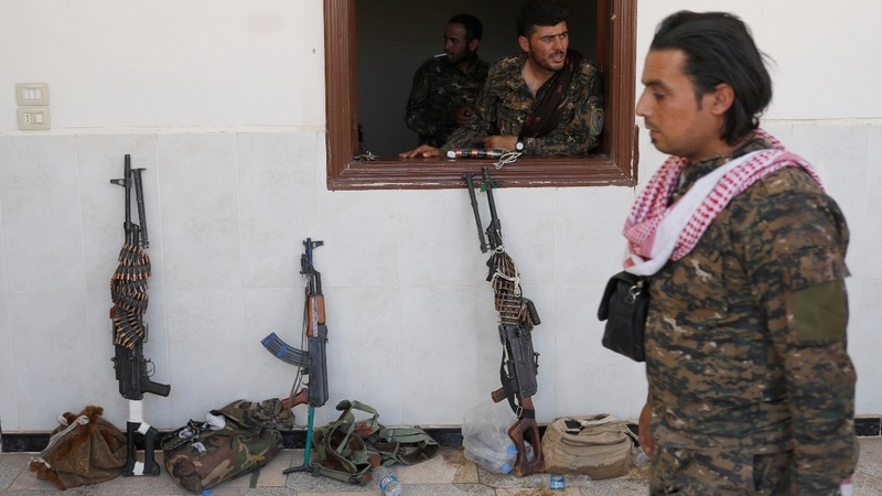 U.S. may let Kurdish allies in Syria keep weapons