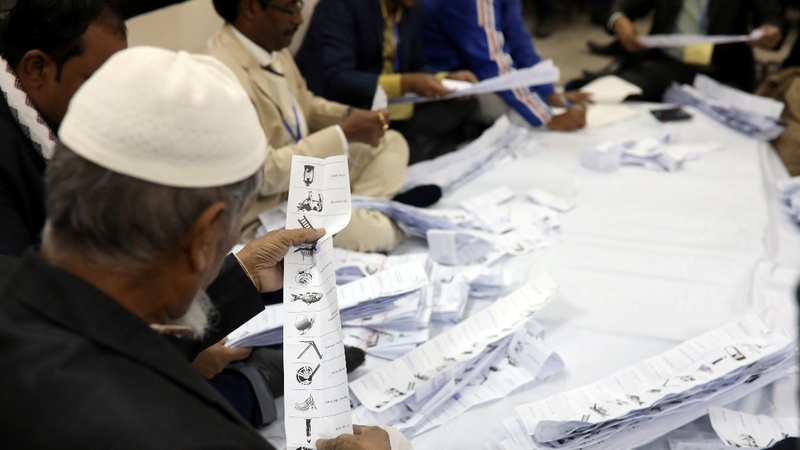 Bangladesh PM wins despite vote-rigging claims