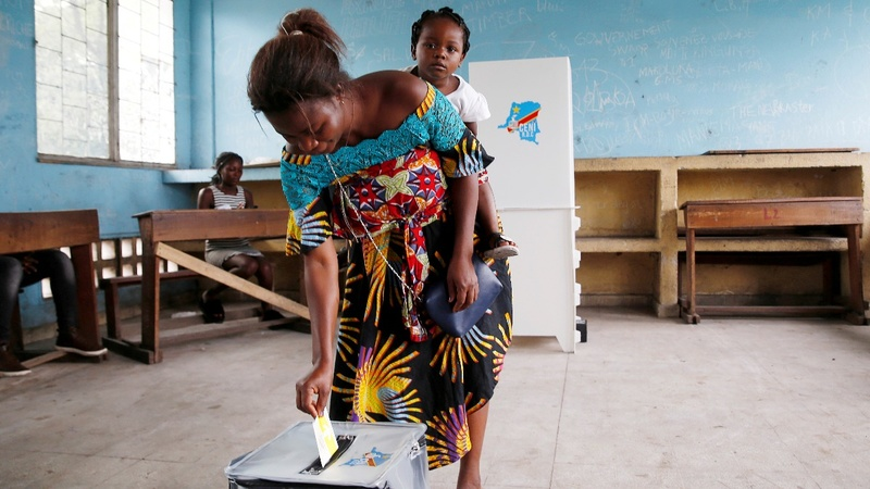 Both sides claim victory in DRC's chaotic poll