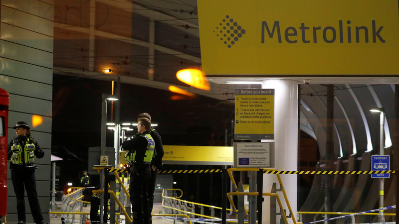 Manchester stabbing treated as terror investigation
