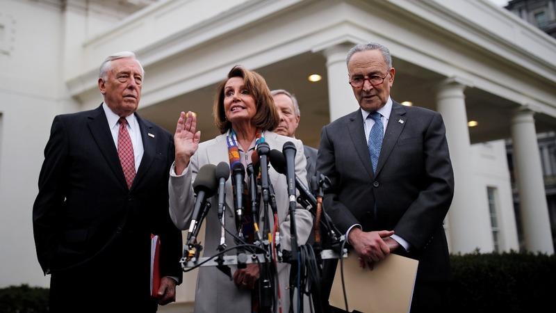 Democrats to push bill ending shutdown, no funds for wall