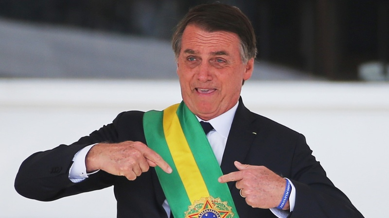 Brazil's Bolsonaro angers activists, cheers markets