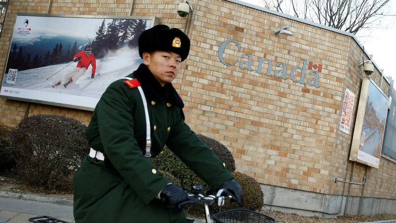 13 Canadians detained in China since December