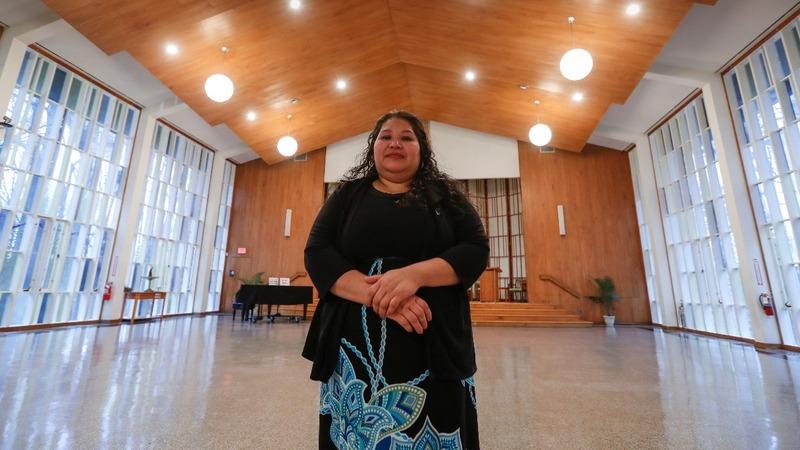 Salvadoran facing deportation finds refuge at MD church