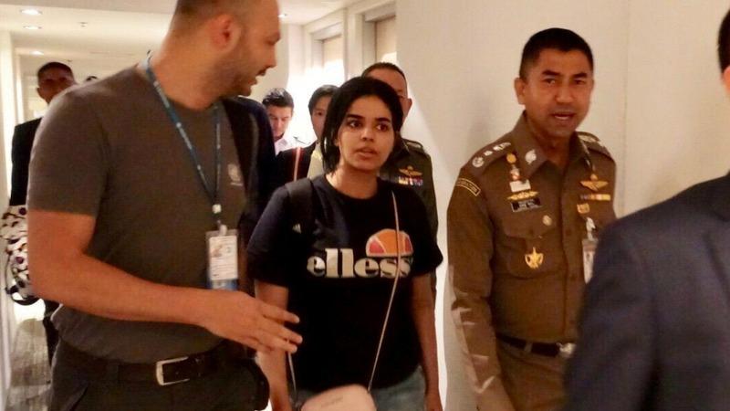 UN refers Saudi teen seeking asylum to Australia