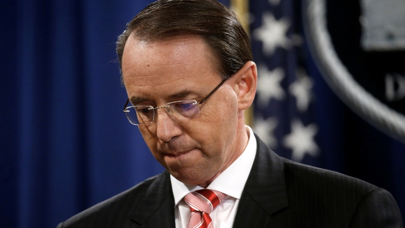 Rosenstein to step down as Deputy AG