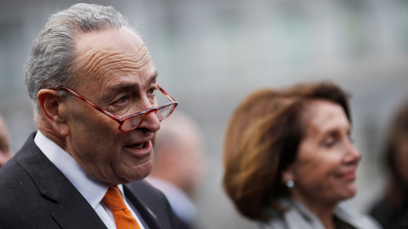Trump 'walked out' of shutdown meeting: Schumer