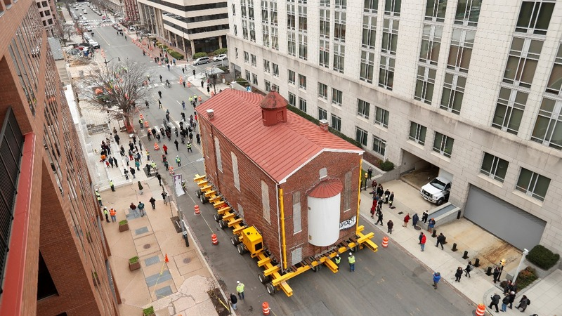 INSIGHT: A historic synagogue goes on the move