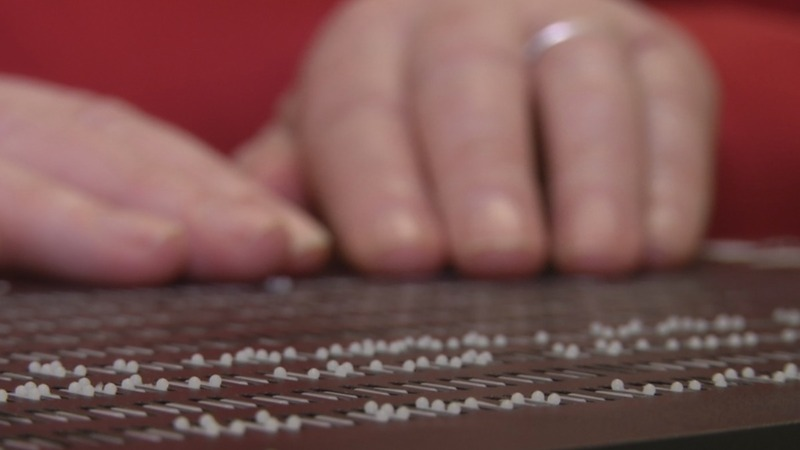 Braille tech firm builds 'Kindle for the blind'