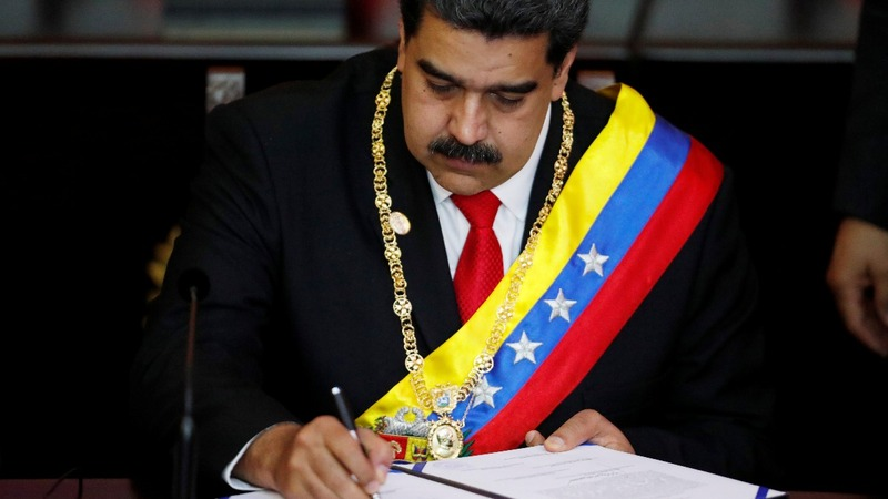 Defying critics, Venezuela's Maduro starts new term
