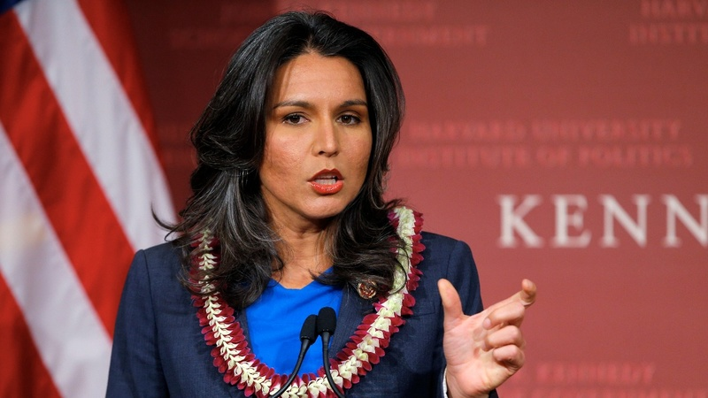 Democrat Gabbard says she will run for U.S. president
