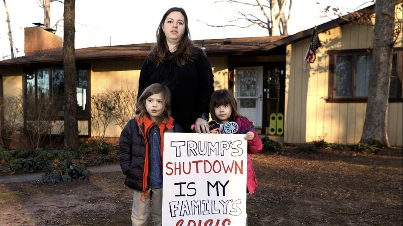 Amid shutdown, a mother braces for the unknown