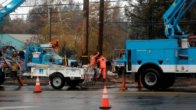 PG&E discussing bankruptcy financing: sources