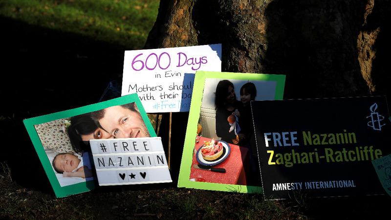 Jailed British-Iranian goes on hunger strike
