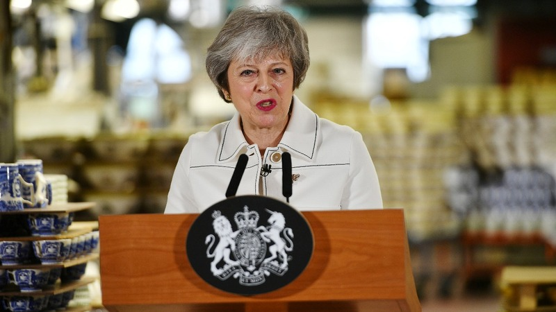 Brexit in peril if divorce deal voted down - May