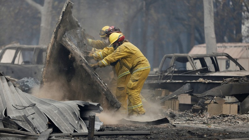 PG&E to file for bankruptcy after California wildfires