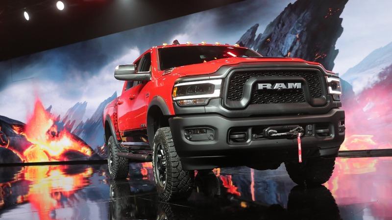 Detroit rolls out big trucks despite emission worries