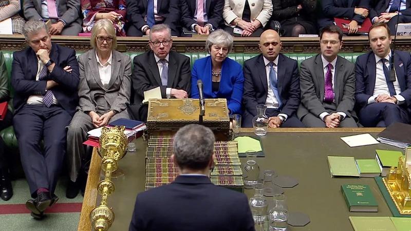 VERBATIM: May's government wins confidence vote