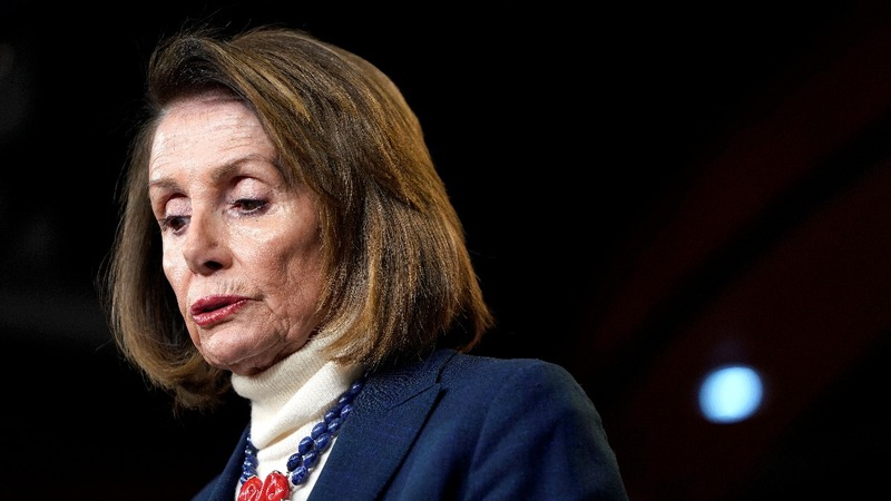 Pelosi accuses Trump of ''outing' her Afghan trip