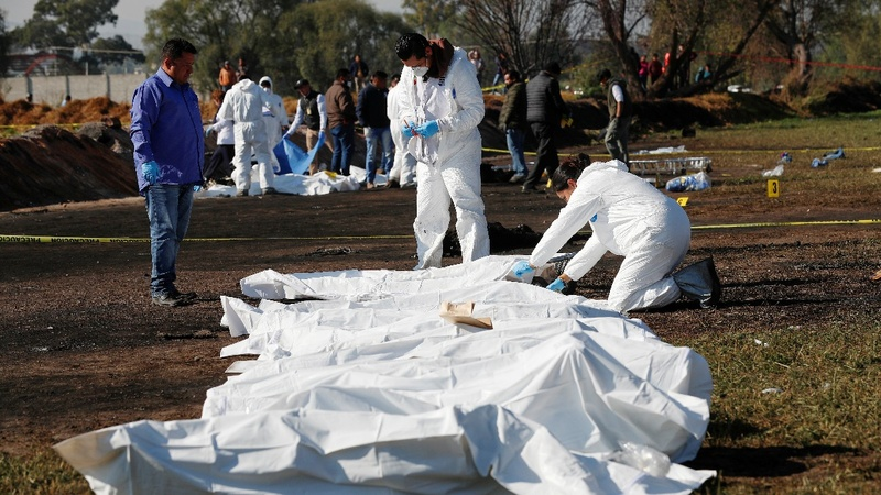 Dozens killed in Mexico fuel pipeline blast