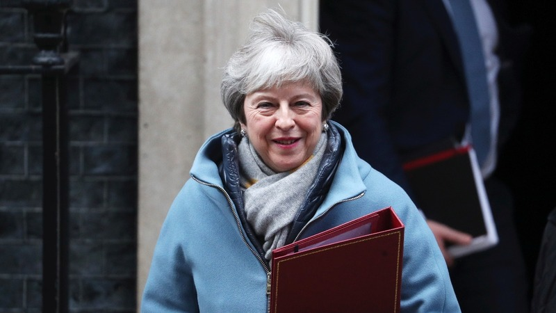 May tries to tweak defeated Brexit plan