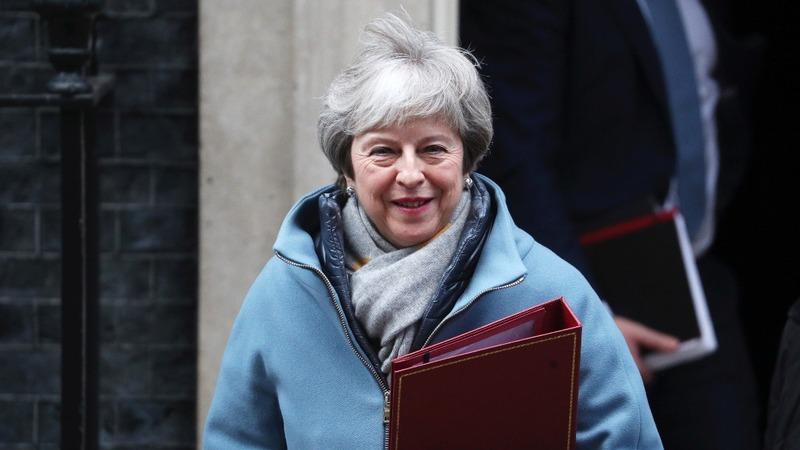 May tries to tweak defeated Brexit plan