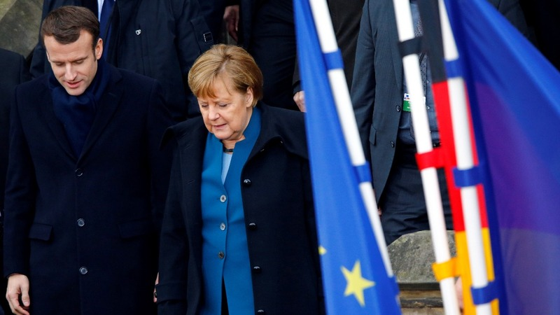 Threats to EU prompt Franco-German 'unity' treaty