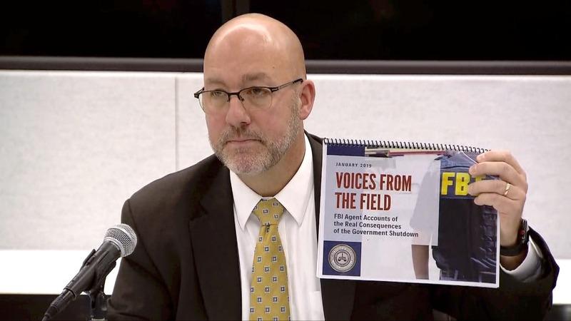 Shutdown poses risks to nation: FBI agents' report