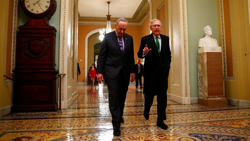Senate to vote on dueling bills to end shutdown