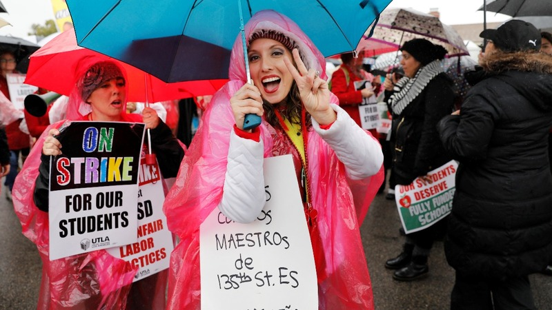 Los Angeles teachers end week-long strike