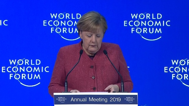 Merkel calls for global unity to reach 'win-win outcomes'