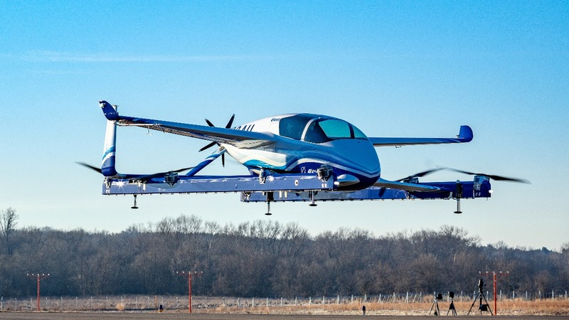 Boeing's flying car lifts off